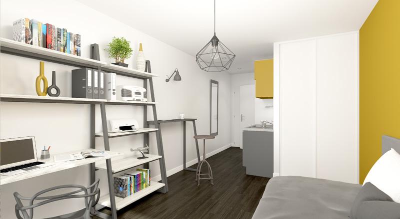 r sidence tudiante new legend lyon gerland 69 lmnp bouvard r ductions d 39 imp t 2017. Black Bedroom Furniture Sets. Home Design Ideas